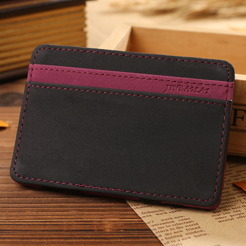 Card Holder Men Card Wallet Magic Business Card Holder Men Fashion ...