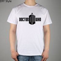 Doctor Who Logo 2010 T Shirt Top Lycra Cotton Men T Shirt