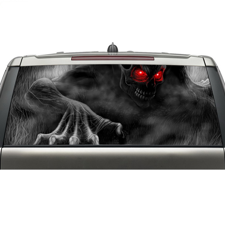 Truck Back Window Decals >> Us 31 99 20 Off Alibaba Online Shopping New Arrival Truck Window Decals Rear Window See Through Reusable Adhesive Vinyl Stickers With Free Ship In