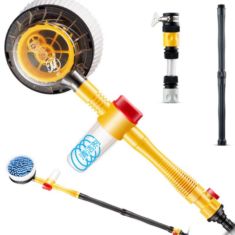 Brosse en mousse à débit rotatif rondelle de voiture microfibre Chenille nettoyant de voiture voiture véhicule brosse de lavage éponge outil de nettoyage