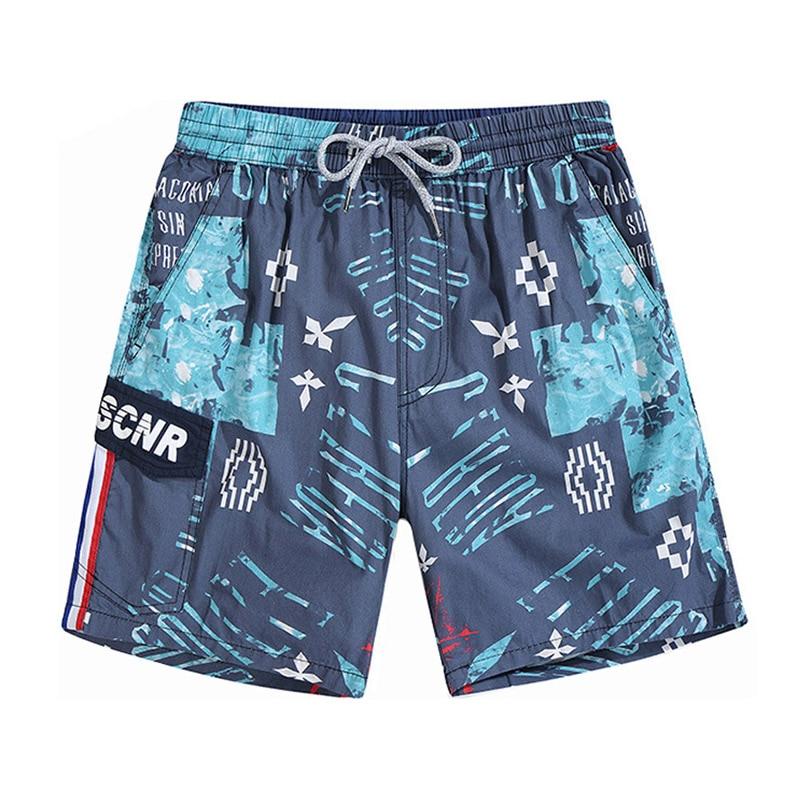 Summer Loose Printing Beach   Shorts   Men Bermuda   Board     Shorts   Knee Length Quick Dry Mens Jogger   Shorts   Male Fishing Workout   Shorts