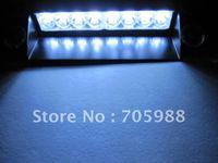 Super Brightness High Power White Flash 8 LED Boat Truck Car Vehicle Fog Strobe Light Lamp