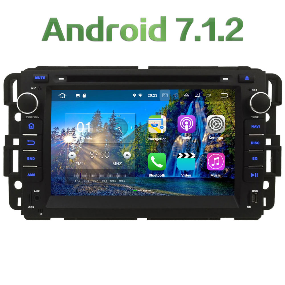 Android 7 1 2 2GB RAM 4G WIFI DAB SWC Car DVD Player Radio For Chevrolet