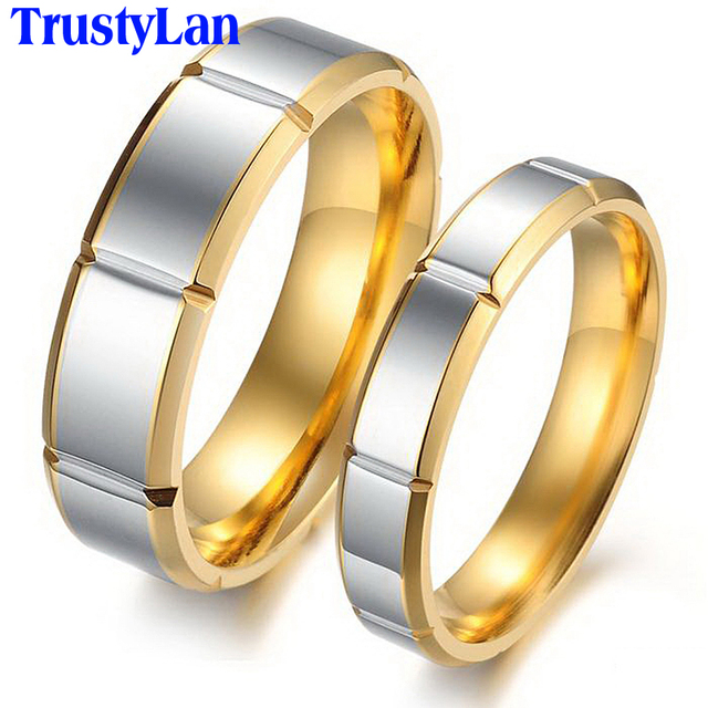 TrustyLa His And Hers Promise Ring Sets Luxury Brand Couples