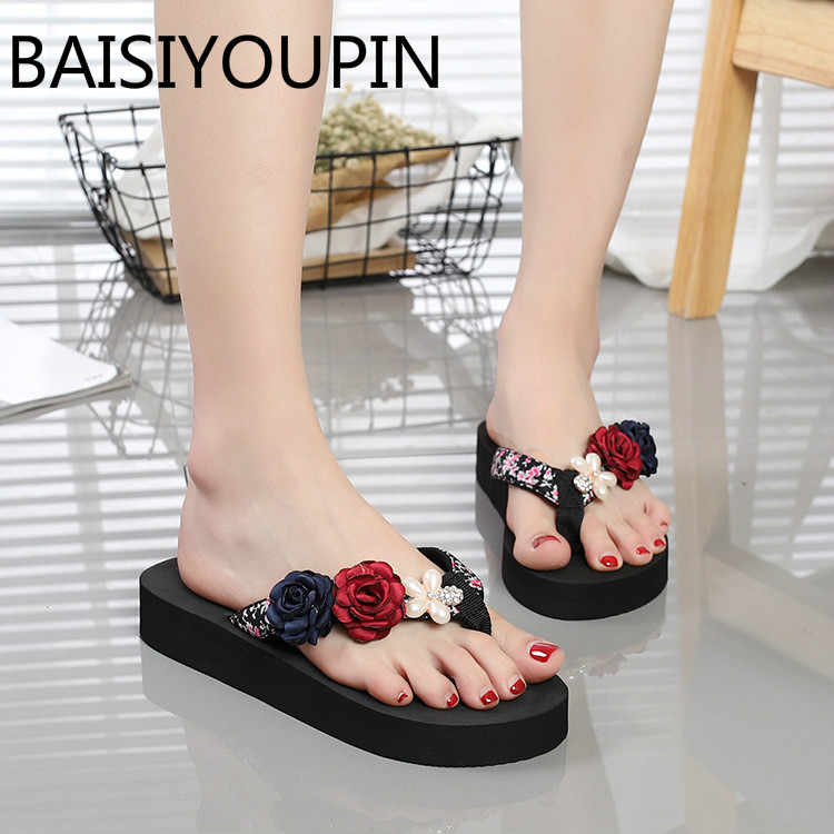 2d79811f6942dc Detail Feedback Questions about 2018 Female Flowers Handmade DIY ...