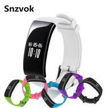 Snzvok X16 Bluetooth Smart браслет для мужчин и женщин спортивные смарт-браслет с пульсометром IP67 Водонепроницаемый OLED Дисплей