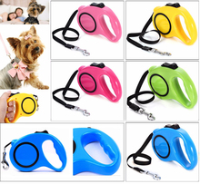 3M/5M Retractable Pet Walking Lead Leash Dog Cat Extending Traction Rope Perfect