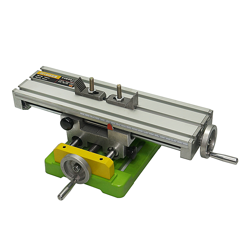 Miniature Precision LY6350 Multifunction Milling Machine Bench Drill Vise Fixture Worktable X Y-axis Adjustment Coordinate TableMiniature Precision LY6350 Multifunction Milling Machine Bench Drill Vise Fixture Worktable X Y-axis Adjustment Coordinate Table