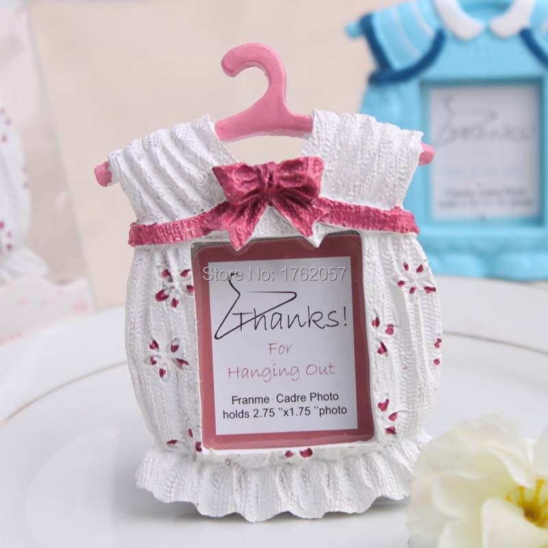 wedding favor Frame cute Baby Theme Resin Photo Frame Wedding Favor Bridal Baby Shower Gifts Pink