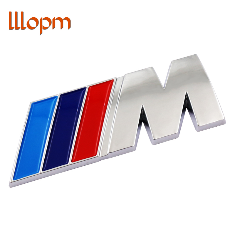 1pcs ABS Car M Power Performance Badge Fender Sticker For M BMW E46 E39 E60 E90 E36 E30 F30 F10 E53 E91 E92 E87 M3 M5 M6 X3 X5 cool car auto decoration badge stickers m logo metal 3d car sticker for bmw m3 m5 x1 x3 x5 x6 e36 e39 e46 e30 e60 e92 all model