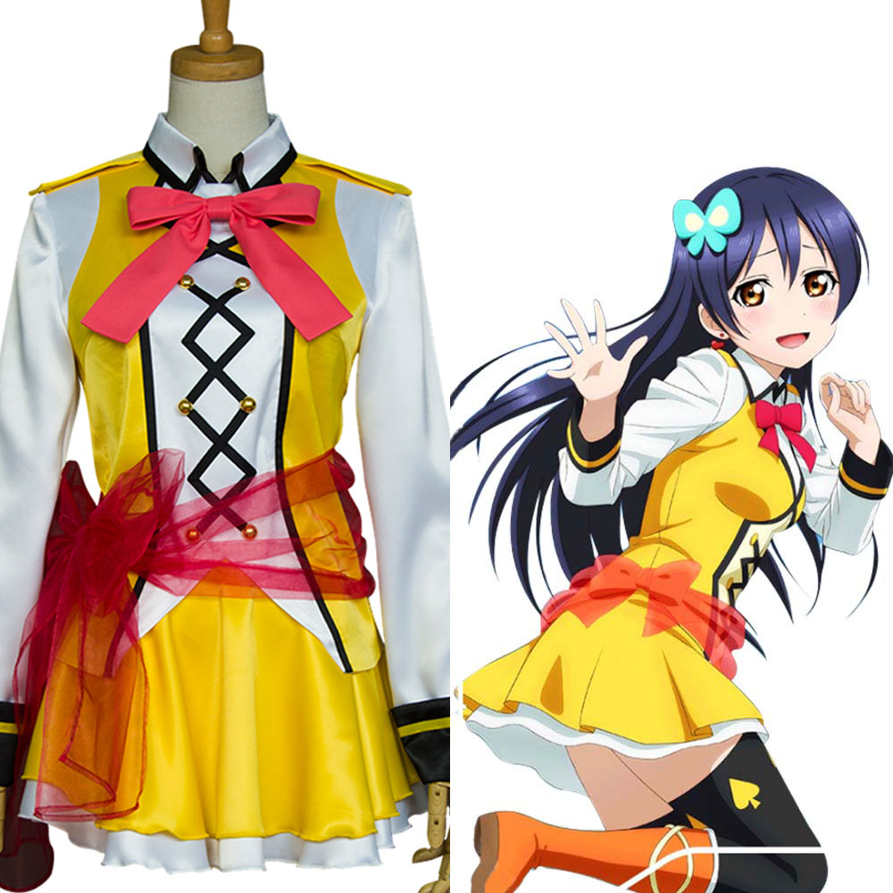 LoveLive! Sunny Day Song Umi Sonoda Cosplay Costume Full Set