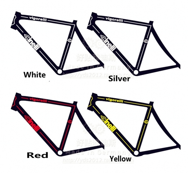 aliexpresscom buy new cinelli fixed gear bicycle frame sticker road bike decals in bicycle frame decal frame stickers cycling accessories from reliable