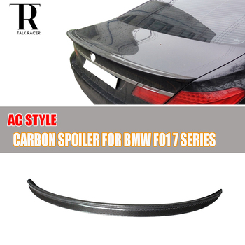 F01 AC Style Carbon Fiber Rear Trunk Spoiler for BMW F01 7 Series 730i 740i 750i 760i 730d 740d 750d 2011 2012 2013 2014