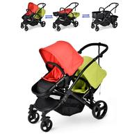 Twin Baby Stroller Double Seat Pram For 0 36 month