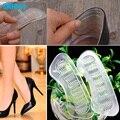1 Par Gel Trasero de silicona Invisible Anti-Slip Zapatos de Tacón Alto Talón de Gel Cojines Espalda de Baile forro de Silicona plantillas Z05701