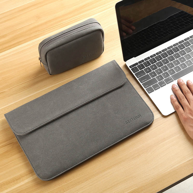 Image 3 - Laptop Bag Case 11 12 13 14 15 15.6 inch for Macbook air Xiaomi pro 13.3 Asus Dell Notebook Sleeve 14.1 Waterproof Matte Cover-in Laptop Bags & Cases from Computer & Office