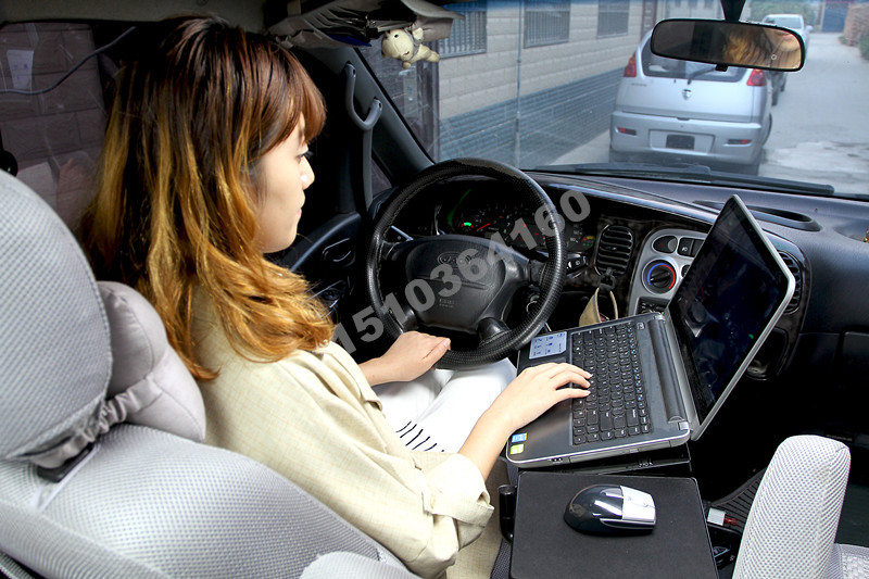 Laptop standOK830free shippingfoldedcar laptop table