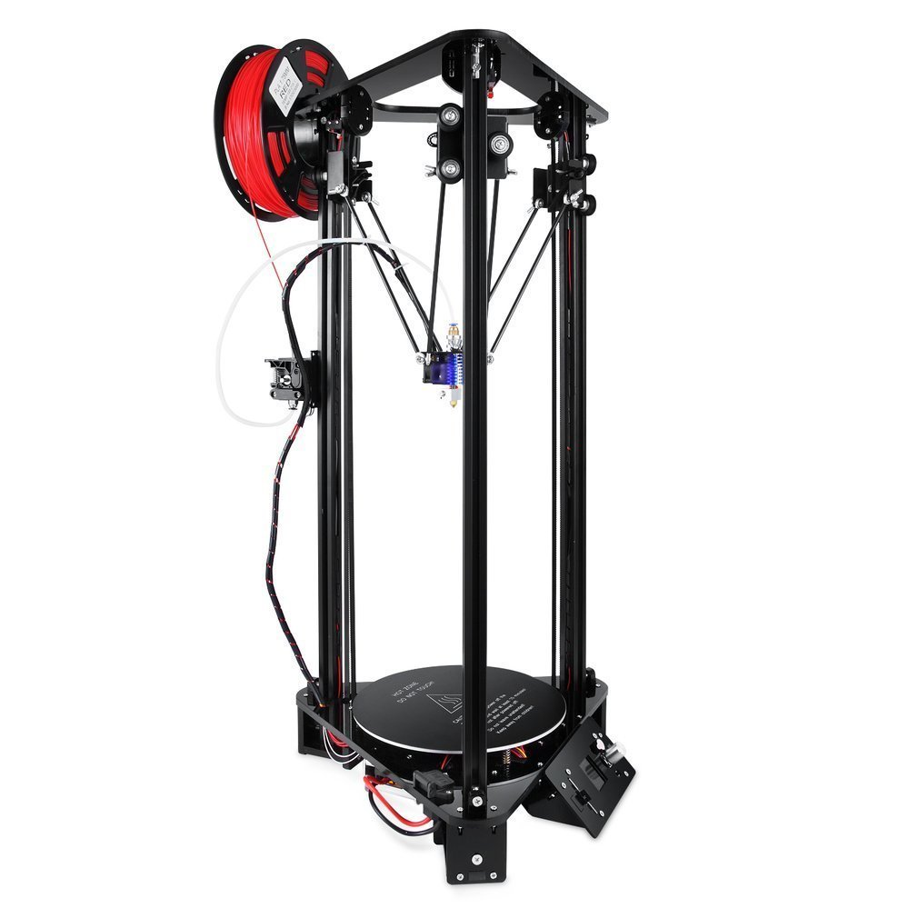 T1 3D Imprimante ensemble Haute Vitesse Lcd Couleur Écran 3 D Impression Kit Kossel Linéaire Delta Grande Taille D'impression Facile Assembler Similaire A8 DHL