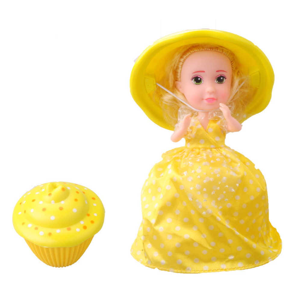 """Yellow cuddle cup for 15/""""doll"""