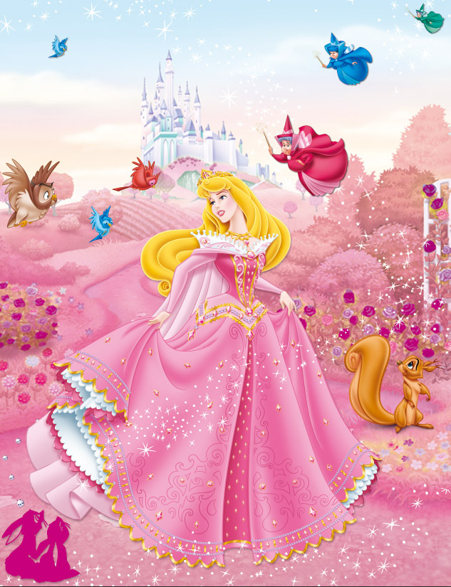 Princess Aurora Cake Design