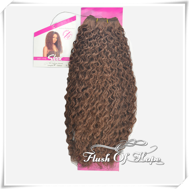 Sleek Fashion Idol 101 Nubian Weave Ombre Synthetic Hair Extensions