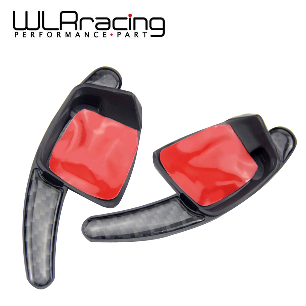 WLR RACING - <font><b>Carbon</b></font> Fiber <font><b>Steering</b></font> <font><b>Wheel</b></font> Shift Paddle for VW <font><b>Golf</b></font> <font><b>7</b></font> <font><b>Steering</b></font> <font><b>Wheel</b></font> Paddle Extension Shifters Sticker WLR-PSD05 image