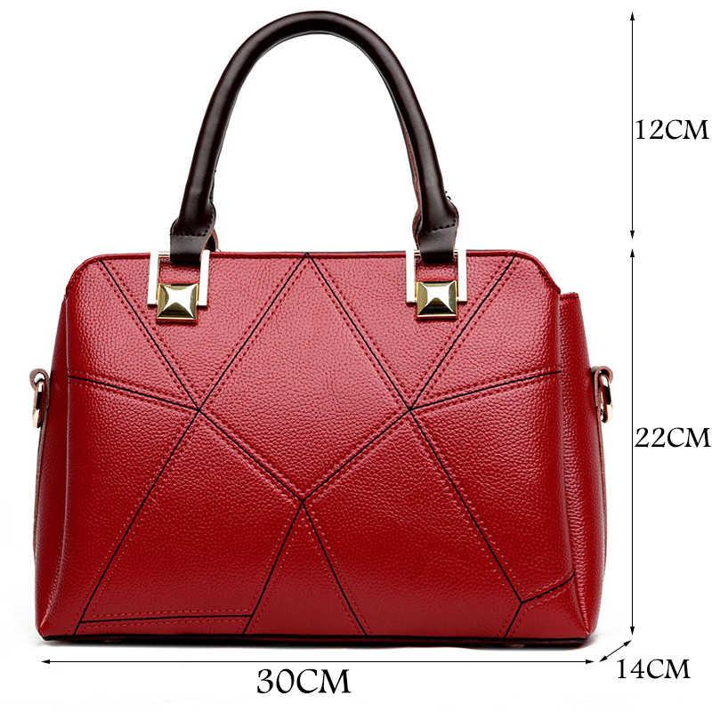 3966c7811c6 Luxury Handbags Women Bags Designer Brand Leather Handbags Simple Shoulder  Bag Female Crossbody Messenger Bag Sac A Main 2018