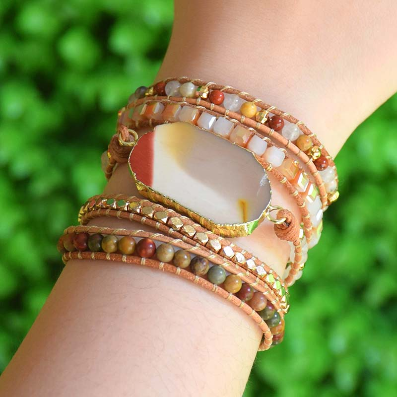 Natural Stone Bracelet 5...