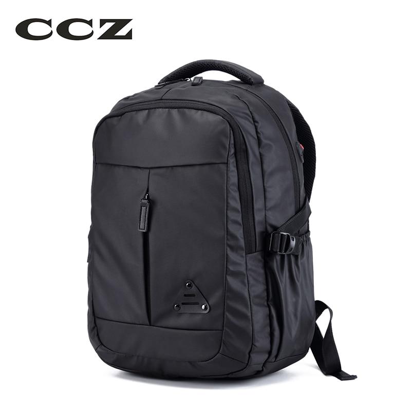 CCZ Men Fashion Backpack High Quality Nylon Men Bag Male Shoulders Bag 14 Inch Laptop Backpack Teenage School Bag BK8019