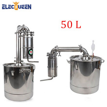 Alcohol Distiller Liquor Whisky Vodka-Maker Brewing-Device Wine Stainless Spirits 50L