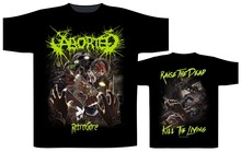 Funniest T Shirts Ever Crew Neck Short Aborted Retrogore Compression For Men