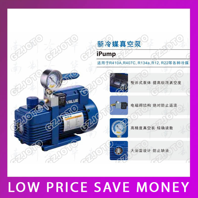 NEW Vacuum Filter Pump Suitable For R410a R407C R134a R12 R22 Refrigerate 220V 180W V i120SV