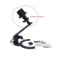 Aftermarket darmowa wysyłka Uniwersalny Silnik Rowerów Telefon: Mount-Posiadacz Telefonu komórkowego/GPS Holder-(Potrzeba Mounti Część, sprzedawane Oddzielnym)