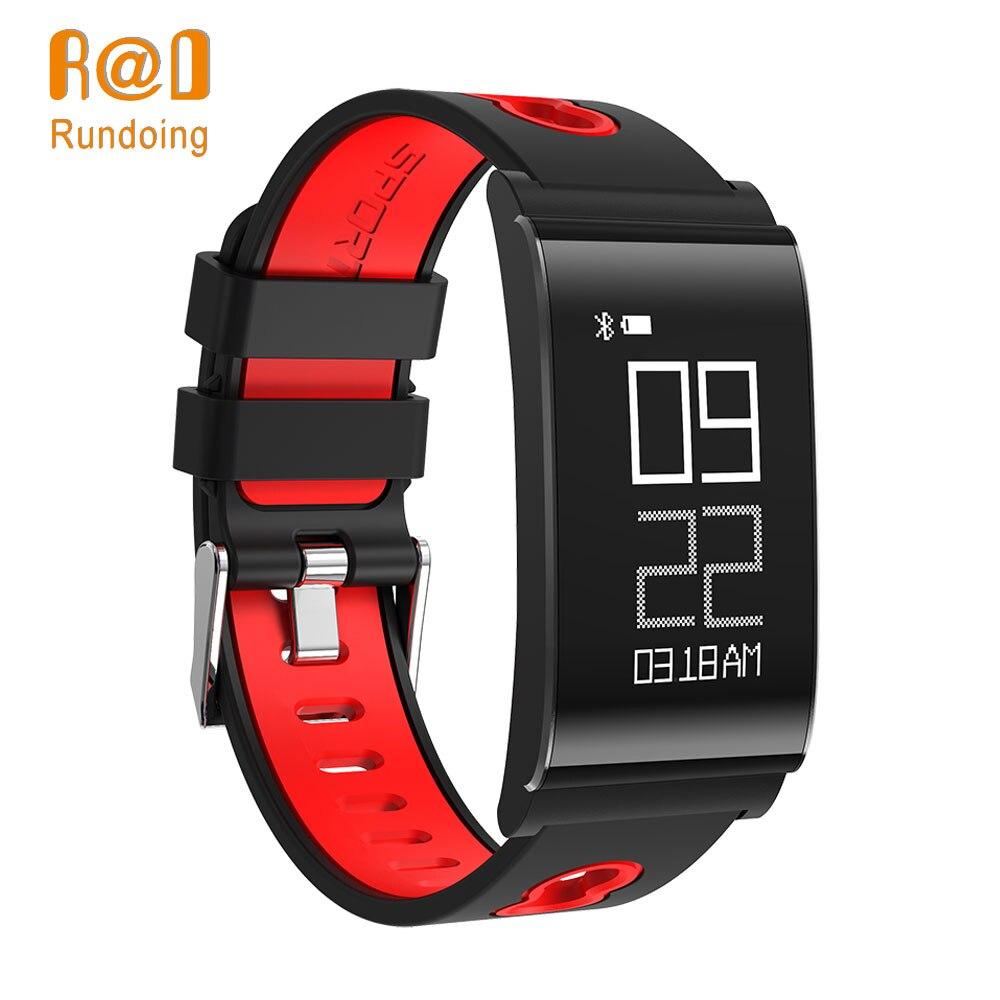 Rundoing N109 Bluetooth Intelligente Wristband di Ossigeno Nel Sangue di Pressione Per Il Fitness Banda Intelligente di Pressione Sanguigna Braccialetto Intelligente Per smart Phone