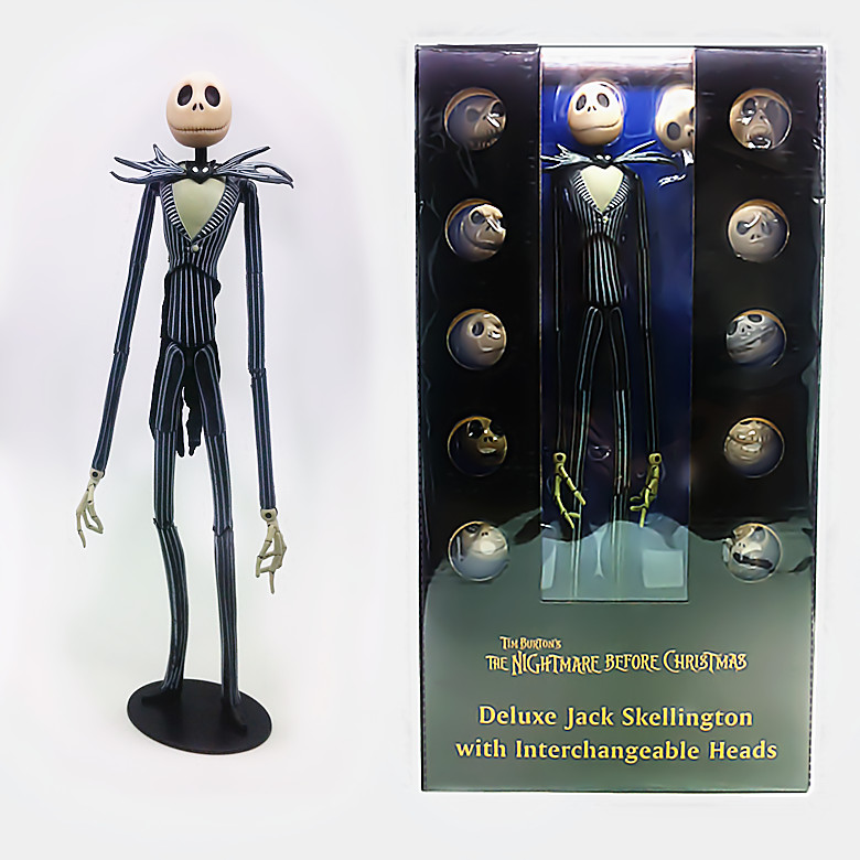 The Nightmare Before Christmas Jack PVC Action Figure collectible Model Toys 38cm KT1337 neca a nightmare on elm street 2 freddy s revenge 3 dream warrior freddy krueger pvc action figure collectible model toy 50cm