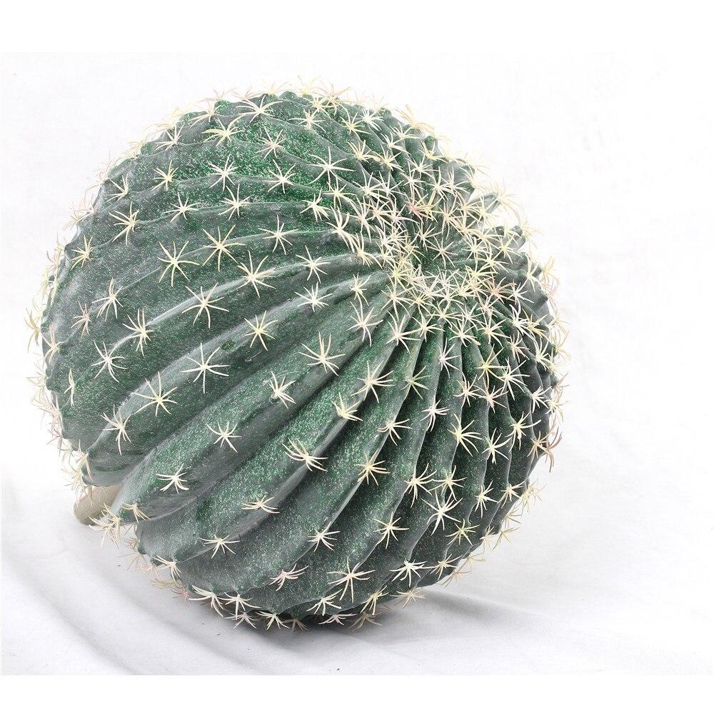 Boule Plastique A Decorer grand faux cactus boule forme plastique artificiel plantes