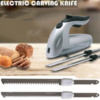 Multifunction Electric Knife Bread Cutting Machine Freeze Frozen Meat Cut Saw Slicer Kitchen Appliances Bakeware Tool