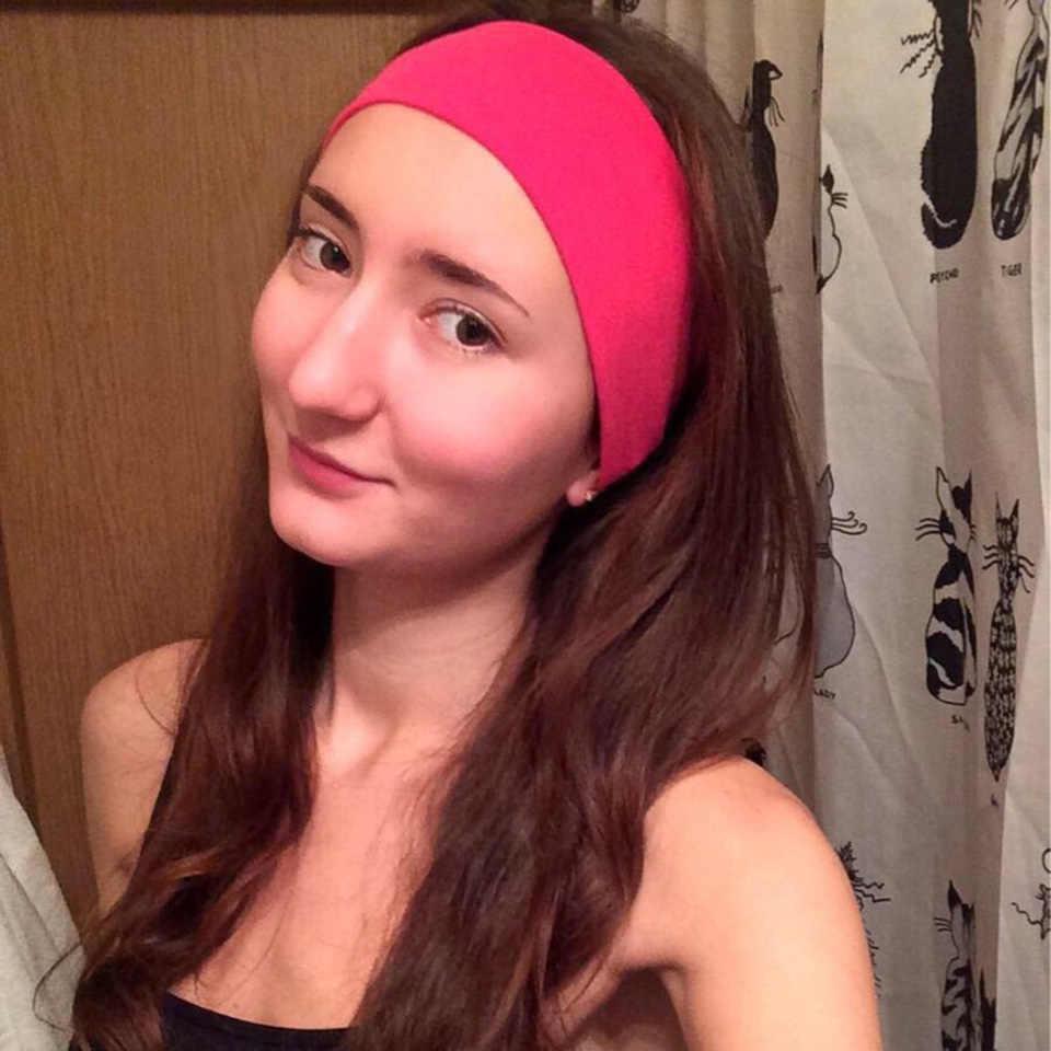 ... Fashion Elastic Women Headband Dance Biker Wide Headbands Stretch  Ribbon Head Band Ladies Hair Accessories ... f31ba262dba