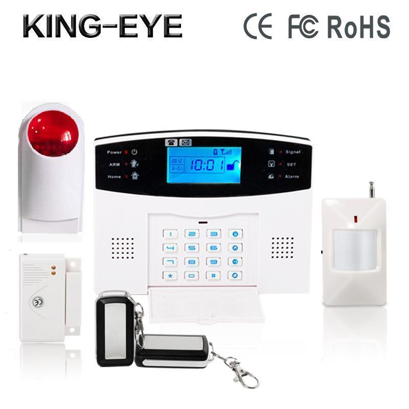 Russian/French/Spanish/Czech/Italian voice sms GSM alarm systems security home kit PIR detector strobe outdoor wireless siren russian french spanish polish voice prompt gsm alarm system for home security anti theft pir detector wireless siren app control