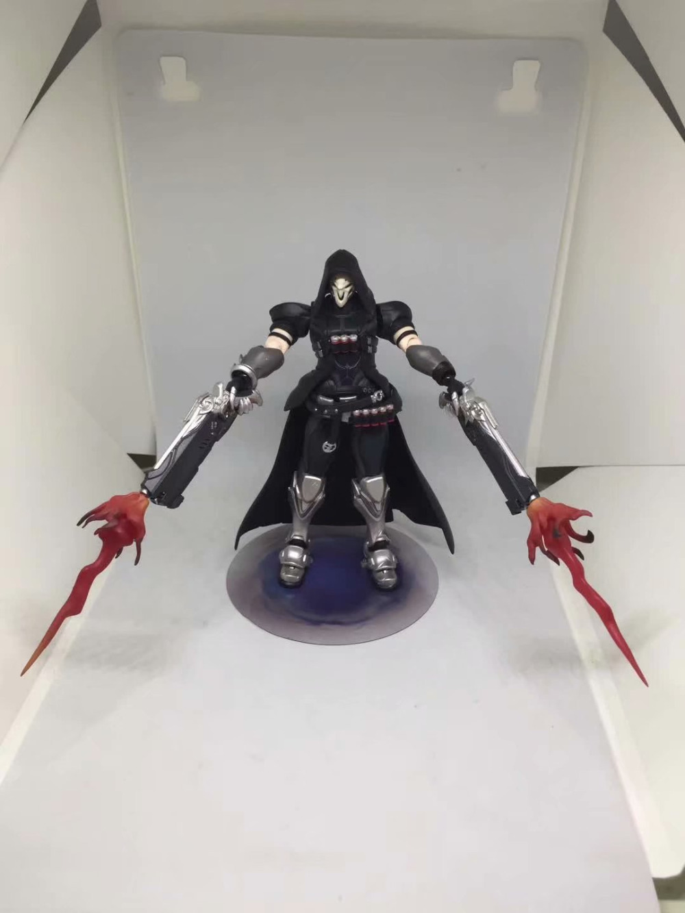 17cm ow Figma 393 Overwatches Reaper Series PVC Action Figure Model Toys Doll Gift 4