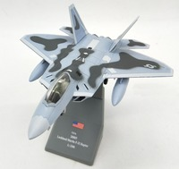 Alloy aircraft 1:100 US Air Force F22 Raptor model Collection model
