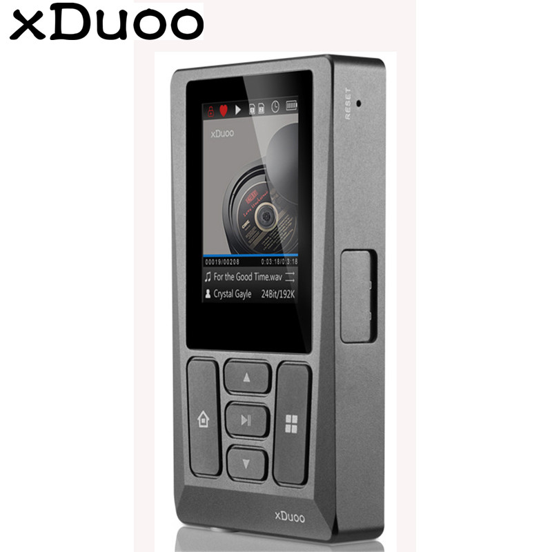 цена XDuoo X10T WM8805 Professional Digital Turntable Music Player DSD PCM MP3 Player HD Lossless 256GB 24bits/192KHz Coaxial DSD