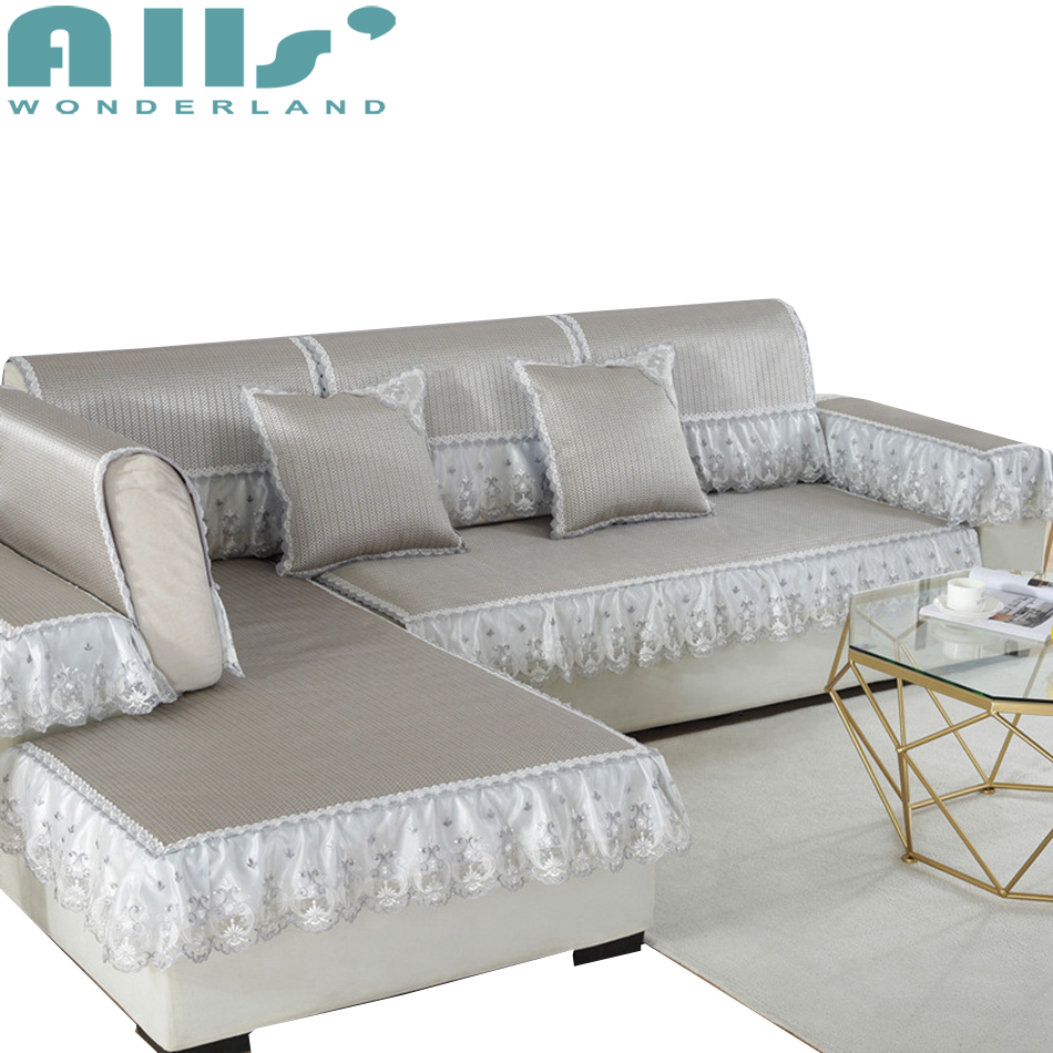 Couch Covers For Sofas Stretch Furniture Covers For Summer Modern Decoration Polyester Sectional Slipcovers Sofa Mat