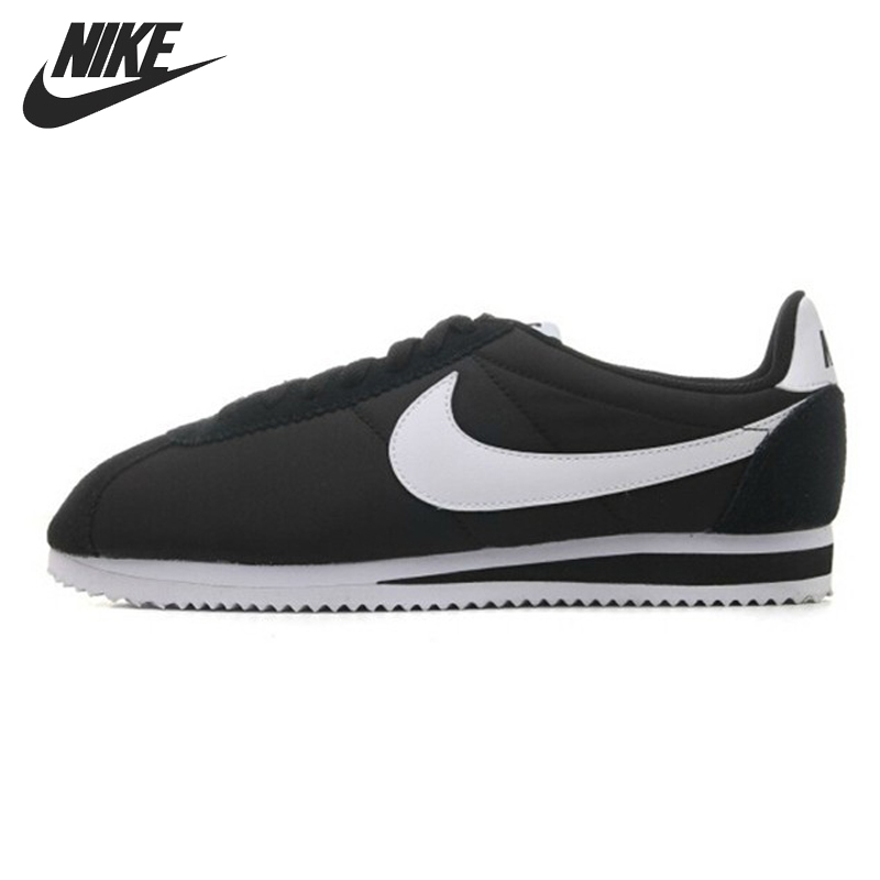 Original NIKE CLASSIC CORTEZ NYLON Men's Skateboarding Shoes Sneakers original nike classic cortez nylon men s skateboarding shoes 532487 sneakers free shipping