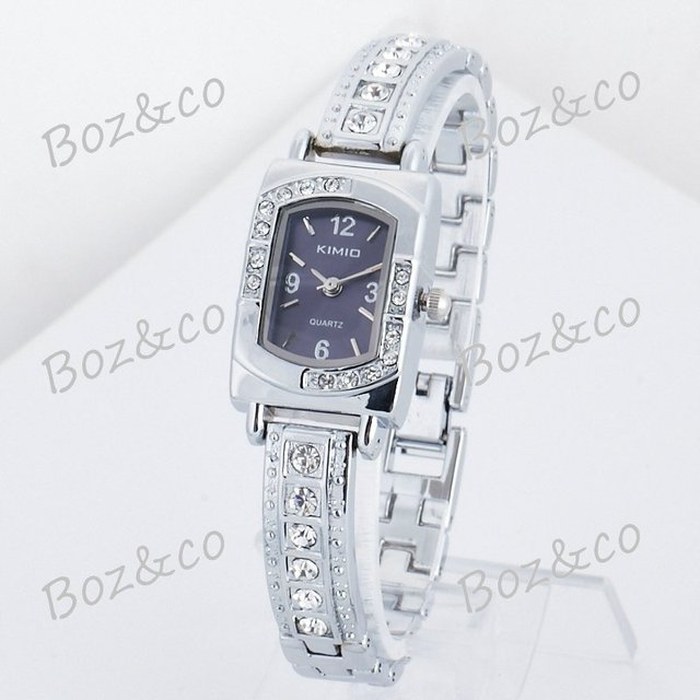 Free Shipping New Fashion wristwatch KIMIO quartz watch jewelry gift for lady white collar K138L