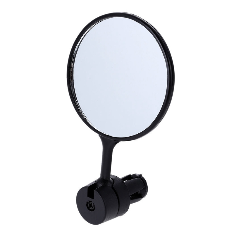 Outdoor Bike Rear View Mirror 360-degree Adjustable Bicycle Handlebar Grip Rearview Glass Hot