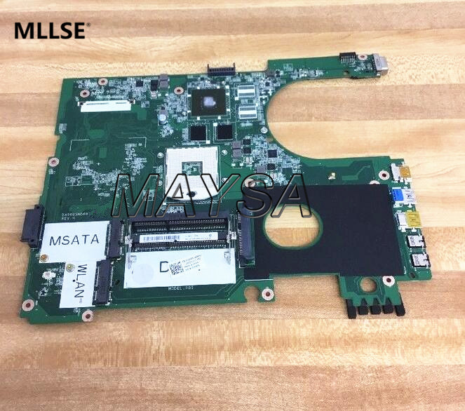 NEW !!! DA0R09MB6H1 REV : H LAPTOP MOTHERBOARD FIT FOR DELL INSPIRON 5720 (COMPATIBLE FOR 7720 072P0M) NOTEBOOK PC laptop motherboard fit for acer aspire 3820 3820t notebook pc mainboard hm55 48 4hl01 031 48 4hl01 03m