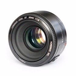 YONGNUO YN EF 50 мм f/1,8 AF апертура объектива Автофокус YN50mm f1.8 объектив для Canon EOS DSLR камер