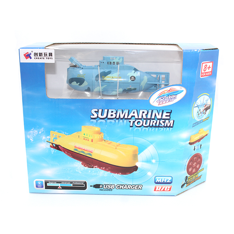 Image 5 - RC boat  Mini Submarine RC Speedboat  High Powered 3.7V Large Model RC  toys Submarine Outdoor  with the Model Electric Kids toy-in RC Submarine from Toys & Hobbies