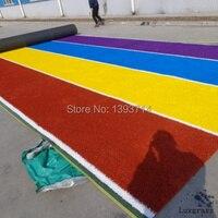 Kleurrijke kunstgras voor runway/kinderen speeltuin